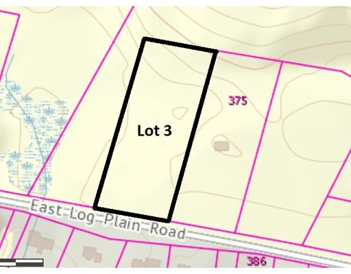 Lot 3 Log Plain Road Greenfield MA 01301