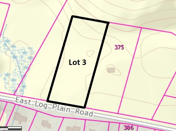 Lot 3 Log Plain Road Greenfield MA 01301