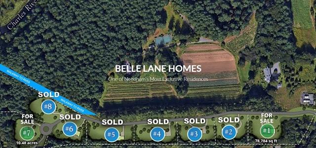Lot 1 Belle Ln, Needham, MA, 02492, Needham Home For Sale