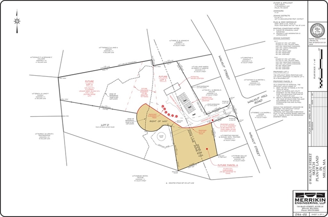 Lot 1 Walnut Street, Millis, MA, 02054,  Home For Sale