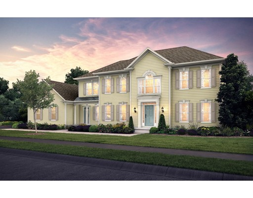 NEW CONSTRUCTION – NEW COMMUNITY STEPS FROM THE BLUE HILLS RESERVATION.  The WENTWORTH estate home is the perfect New England colonial in a beautiful, wooded, neighborhood setting. The open floor plan features a chef Kitchen and Gathering Room with a marble surround fireplace.  Also on the 1st floor is the formal Dining Room, traditional Living Room and Library. The 2nd floor offers an Owners en-suite with sitting room and spa like Bath, 3 additional Bedrooms with 2 adjoining Bathrooms.  The added bonus is the finished Game Room on the lower level. Only 23 homes - don't miss a great opportunity to live in this spectacular new home and community. Walk to the neighboring Blue Hills Reservation and take advantage of all it has to offer.  Price includes well appointed, high-end upgrades. Ask about the comprehensive 10-5-2 Year Warranty.  Time to select one of four home plans and upgrades for this homesite.