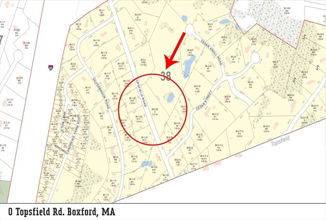 0 Topsfield Rd L:2, Boxford, MA, 01921,  Home For Sale