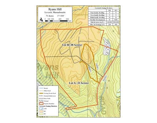 0 Cave Hill Rd., Leverett, MA 01054