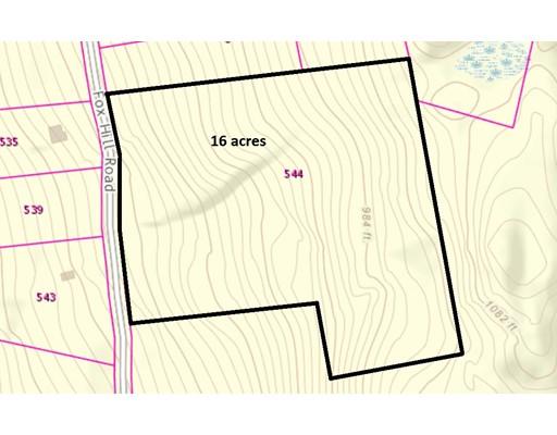 544 Fox Hill Road (Land Only), Bernardston, MA 01337
