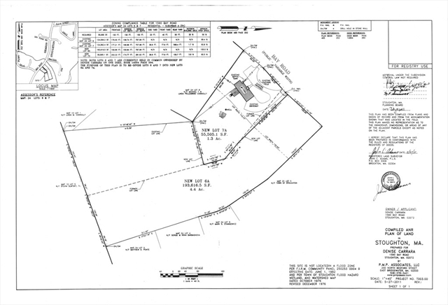 0 Bay Road, Stoughton, MA, 02072, Stoughton Home For Sale