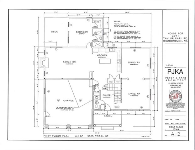 Lot 1 Taylor Farm Road, Boxborough, MA, 01719, Middlesex Home For Sale