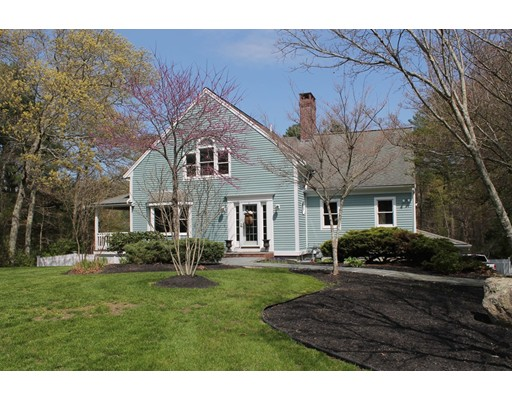 Prime South Westport Location. Established Woodlyn Estates located in wonderful coastal community offering Pristine Ocean Beaches overlooking the Elizabeth Islands,Westport Vinyards,Buzzards Bay Brewery,waterfront dining in historic settings, and paths to walk in the Audubon Sanctuary. Custom built Post and Beam with towering ceilings and large expanses of glass overlooking wooded 1.5 acre  lot. In ground pool and outdoor living area, open and ready for summer.  Hardwood floors through out. Wonderful new kitchen with SS. appliances,farmers sink and polished quartz counters. Upscale lighting.Cozy Wood burning FP. Option for first floor master with built in California closets and access to covered porch. Walk out lower level and 2 car garage.  Separate detached outbuilding in rear of the property offers many possibilities.  Central air systems,Natural Gas heating. Passed Title V in hand.  Convenient access to highways, Central Village amenities.