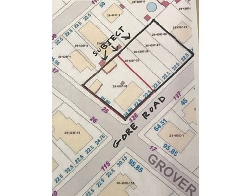 Gore Rd Lots and 126 Gore Road Revere MA 02151