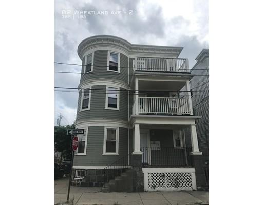 82 Wheatland Boston MA 02124
