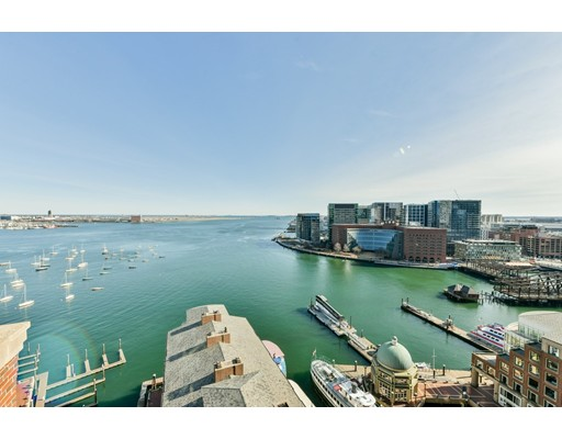 Condominium/Co-Op for sale in 10 Rowes Wharf Waterfront, Boston, Suffolk