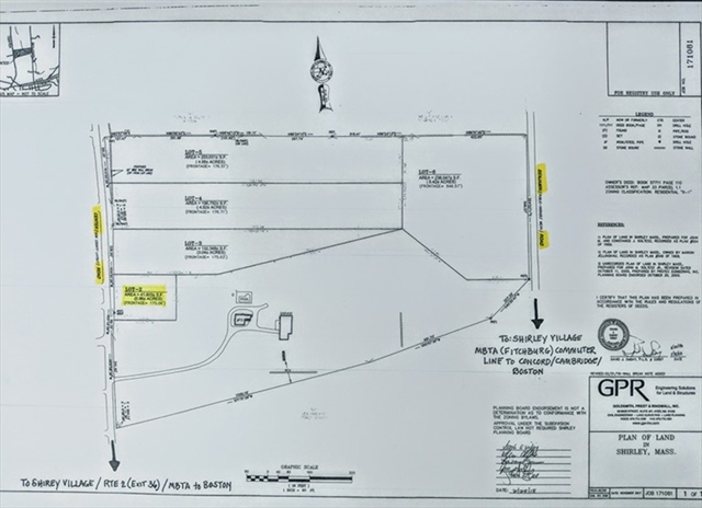 0 Center Road   (ANR LOT 2), Shirley, MA, 01464,  Home For Sale