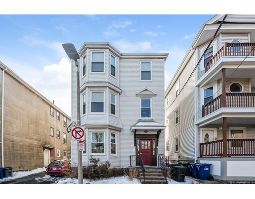 Welcome home to this beautifully renovated 2 bedroom condo. The entire building was renovated in 2015 to include new heating/central air systems, kitchen, bath, and windows. This unit has an open layout with hardwood floors throughout, stainless appliances, granite counter tops and washer and dryer in unit. Outdoor space includes a porch and a common area patio. Private storage unit in the basement.