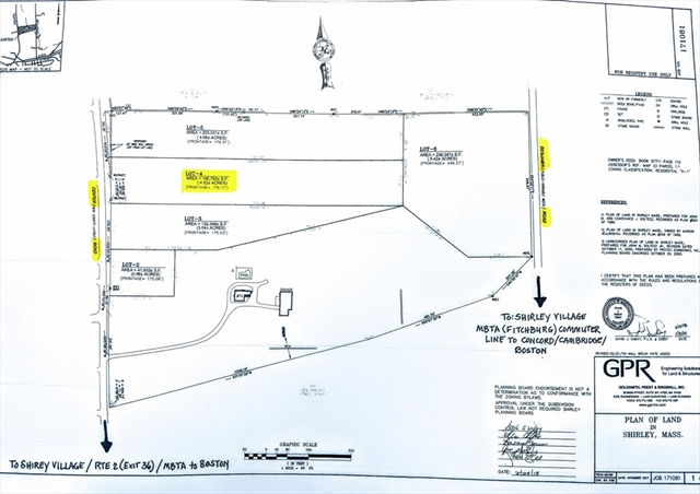 0 Center Road   (ANR LOT 4), Shirley, MA, 01464, Shirley Home For Sale