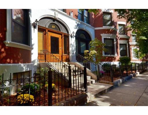 87 Gainsborough Street Boston MA 02115