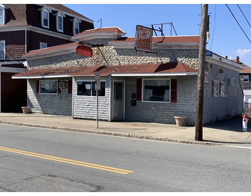 Commercial building in a high traffic corner location close to the Fall River/Tiverton line. Soundly constructed with 10 parking spaces in back. Currently being used as a two (2) unit space, can be converted easily back to one (1) unit.