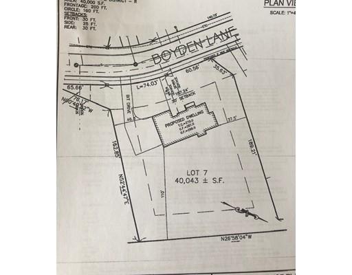 Lot 7 Boyden Lane Walpole MA 02081