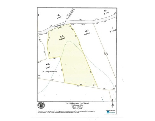 Property for sale at 0 Templeton Road, Phillipston,  Massachusetts 01331