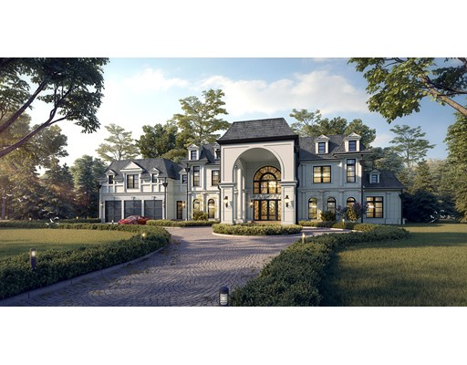Brookline's premier luxury builder presents a once in a lifetime opportunity to customize an estate boasting 9592 SqFt.Ultimate in luxury, this home is to-be-constructed w/ close attention to detail.Elegance ensues the front elevation w/limestone exterior,columns & casings, a porte-cochere W/ 10 ft high custom iron doorways, continuing to a beautiful show-stopping half round.WOW factor entertainment awaits w/breathtaking double bridal stair cased grand foyer open to living&dining rooms.State-of-the-art Grand kitchen w/ prep kitchen,spotlight matching top of the line appliances &cabinetry.Stroll through 15ft cased opening to an oversized family room.Exceptional floor plan flow,pleasing sight lines & expansive windows add to the grandeur of the home.First floor also incorporates an au-pair suite paneled library, w/ boasting11ft ceilings.2nd floor has a palatial master suite,4 ensuite bedrooms all w/14ft tray ceilings.Enjoy secluded living on this private lot w/estate expansion potential.