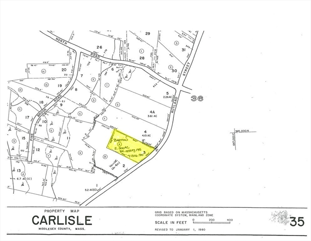 0 RUTLAND STREET, Carlisle, MA, 01741,  Home For Sale