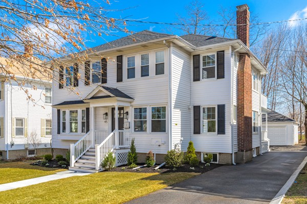 45 Carleton Rd, Belmont, MA, 02478, Middlesex Home For Sale