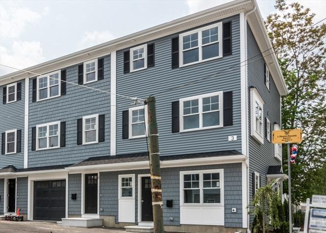 3 LOWELL STREET, Waltham, MA, 02453,  Home For Sale