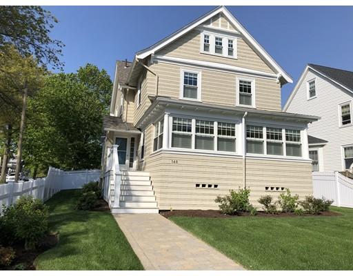 148 Bellevue Street Boston MA 02132
