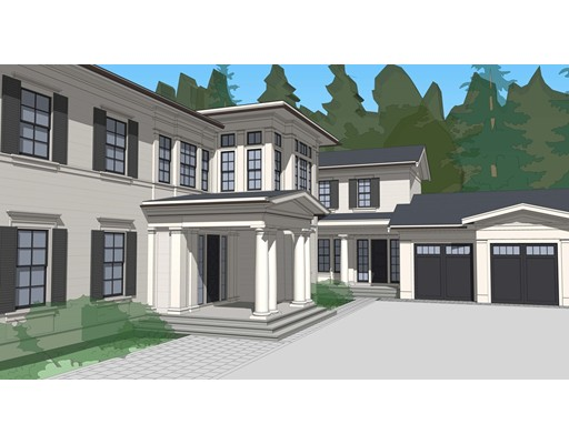 We are proud to announce this outstanding property currently under construction in the Country Club area of Brookline. This impeccable transitional home is designed by the award winning architect Marcus Gleysteen and slated to be completed fall/winter 2019. Located at the end of a long and impressive driveway this home sits on over 1 acre of level land and will feature all the bells & whistles that is expected in a luxury home!