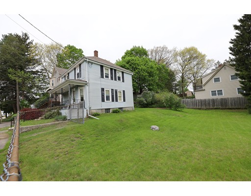 """Three Bedroom Colonial on a corner lot in East Dedham.  House in need of total renovation, first floor living room, dining & kitchen, second floor 3 bedrooms and 1 full bath.  House being sold """"as is"""" where is with all faults, seller and sellers agent make no warranties or representations, buyer is responsible to verify all information. Older furnace with asbestos, roof approximately 8 years old, original kitchen and bath and heating system.  Don't walk the property without agent, house occupied.  Group showings for buyers start  May 15th Wednesday at 11:00-12:00 and Friday, May17th at 11:00-12:00. Any offers due Sunday at 6:00 pm."""