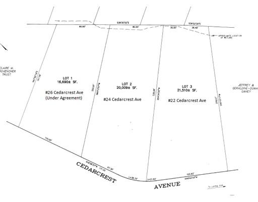 Lot 22 Cedarcrest Avenue Salem MA 01970