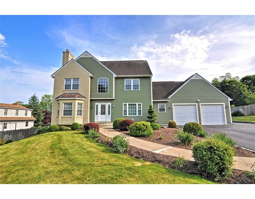 Absolutely Stunning & Meticulously Maintained Custom Built Colonial Perfectly Situated on Nearly an Acre! This Lovely Home Features a Gorgeous 2-Story Foyer, Open Floor Plan, Custom Kitchen w/ Granite Countertops, Double Wall Oven, Large Center Island & Breakfast Area Leading to a Front to Back Living Room Featuring a Gas Fireplace – Perfect for Entertaining! Convenient First Floor Laundry/Mudroom & Full Bathroom, Sunroom, Large Formal Dining Room, 3 Spacious Bedrooms Including a Luxurious Master Suite w/ Walk-In Closet & Spa-Like Bathroom w/ a Jetted Tub, Double Vanity & Separate Shower! Other Features Include Central Air, Hardwood Floors, Nicely Finished Lower Level Complete w/ a 2nd Kitchen & Dining Area, Family Room & Plenty of Storage! Expansive & Well Manicured Yard w/ Large Exterior Deck & Impressive 3 Room Outbuilding Featuring Large Workshop, Separate Kitchen Area & Additional Storage! Outdoor Oven, Vegetable Garden & Vineyard Complete this Incredible Property!