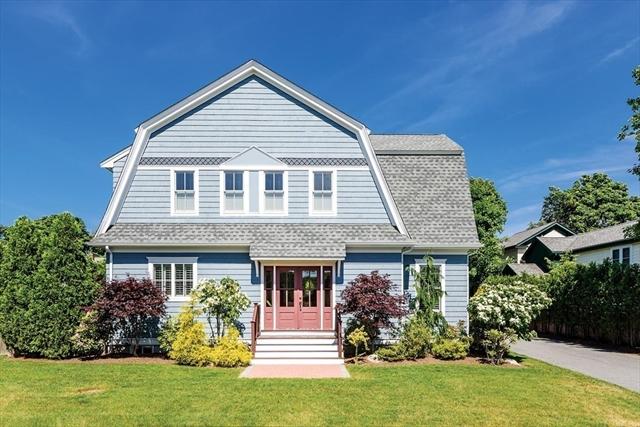 54 Elm St, Newton, MA, 02465, West Newton Home For Sale