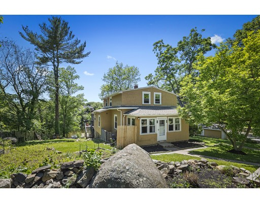 Can't decide on Pond or Ocean? How about both!?! This home offers direct serene views of Fosters Pond but is also less than 2 miles to the Swampscott beaches and even close to the commuter rail! The sun filled mudroom/office welcomes you into the open concept living, dining room and kitchen. Granite counter tops, stainless steel appliances and a walk in pantry adorn the chef's kitchen. A freshly renovated full bath with laundry and bedroom complete the first floor. Upstairs are 3 bedrooms and another renovated full bath. Enjoy paddle boarding, kayaking, fishing and canoeing in the warmer months or ice skate in the winter. The lovely landscaping allows for a vegetable garden, sunbathing or enjoy a lemonade on the deck. Newer windows, brand new roof and a garage complete this special home in the perfect tranquil spot. Easy to show... pack your paddle and move on in.