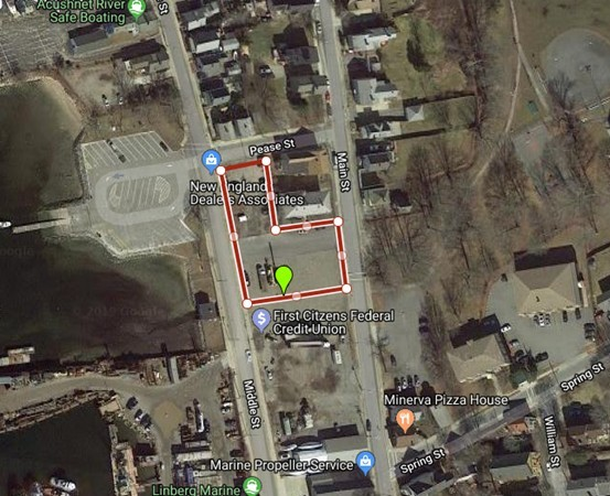 1.32 Acres  with Gorgeous Harbor Views!!  This lot has great potential for the right project and developer.  Not another lot for sale like it for sale in the beautiful seaside town of Fairhaven.