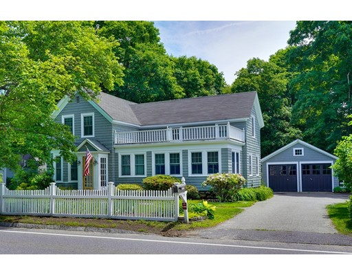 Charm, condition and location can't be beat!  Steps to West Concord Center and Kennedy Pond (frontage on Hayward Mill Rd too).   This turn of the century gem oozes with character.  Perfectly blending the best of yesteryear with the wants of today!!  Just move in and enjoy.  A few updates include: gas heat, painting, roof, generous sized beautifully landscaped in-town lot, two stair cases, hardwood floors throughout, country kitchen, mudroom, large first floor family room, living room & office, sleeping porch and deck!  Total perfection!  See extensive update list attached,