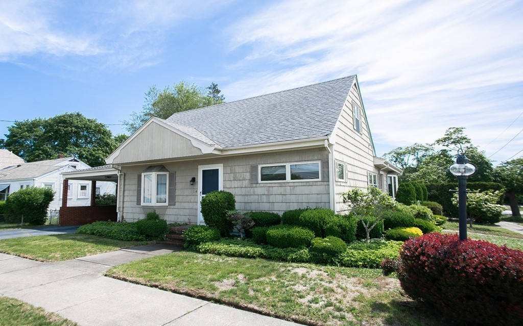 """What if I told you a very unique property in the northend of NB is now available for the 1st time since it was built in 1956? This classic Cape Cod home w/3 bedrooms & 2 baths (1/2 bath in basement) transitioned from classic to """"one of a kind"""" in 1968 when the owners built a huge addition and then continued adding on through 1976. Two large skylights illuminate the kitchen with an abundance of natural light; high-end cabinets encompass the cooking area, sub-zero refrigerator, Miele 5-burner countertop range, dbl oven & peninsula! The 20'x16' family room w/fieldstone fireplace and dining area is perfect for entertaining! Enjoy the luxury of your own indoor hot tub! Other highlights include the rustic enclosed sunroom w/flagstone floor, finished basement w/bar, professionally landscaped yard w/irrigation system, carport & two separate driveways! Pleasant neighborhood, close to highways, restaurants, parks & supermarkets! This home is a definite must see, call today for a private showing!"""