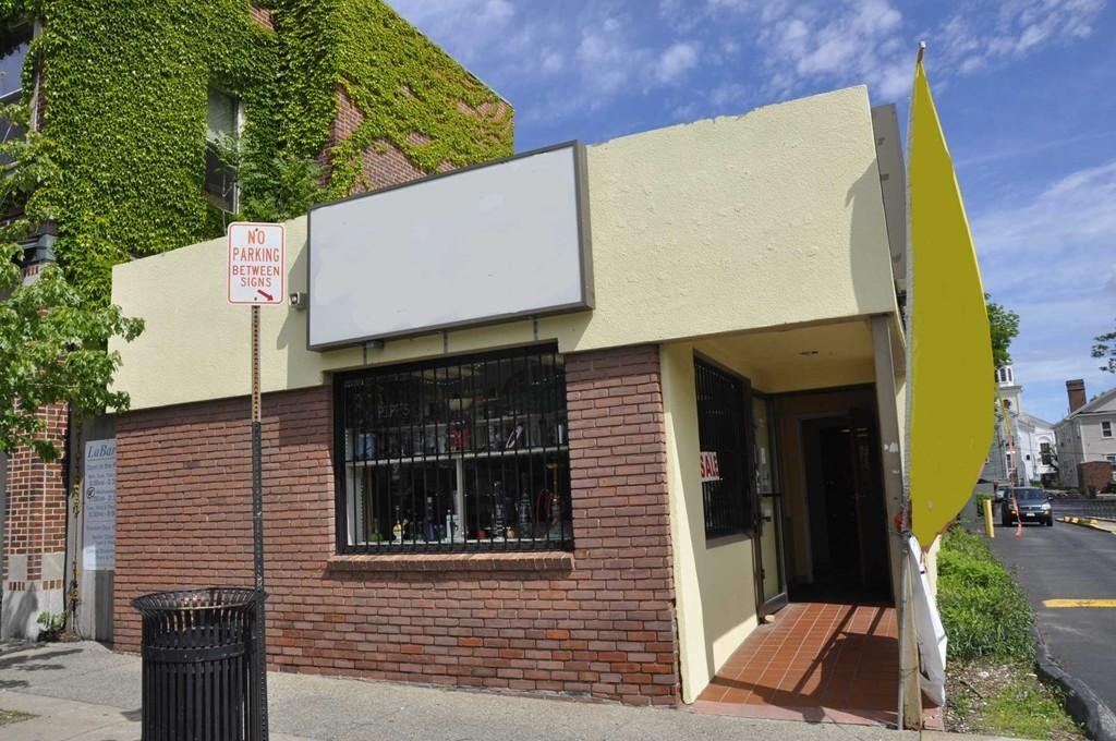 One story, wood framed building with stucco exterior and a full finished basement for additional space. Also has central gas HVAC system. Sale includes real estate, business and related equipment. (439C)