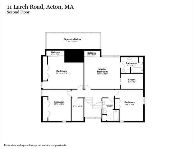 11 Larch Road Acton MA 01720
