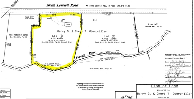 11 North Leverett Road Leverett MA 01054
