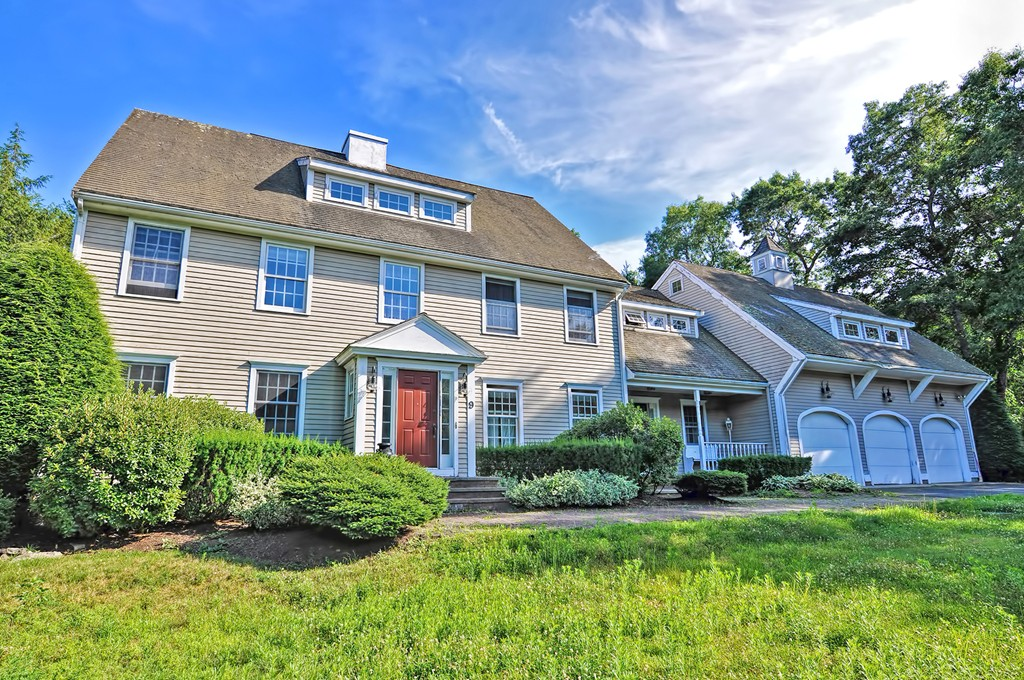"""Here is your opportunity to own in the highly sought after chestnut knoll neighborhood.  Bring your creative ideas and add your own personal touches as you create a dream home. This 4,492 sq ft custom built colonial offers a spacious floor plan on two floors, with even more room to add on the 3rd floor and the enormous basement. In addition it boasts a complete in-law set up above the 3 stall garage. The nearly one acre property contains so many beautiful plantings, stone walls, brick patio and granite stairs to entertain in or to enjoy yourself. All in a very private, sprawling back yard.  Being sold """"as is"""" and price is reflective of the repairs/renovations necessary to restore it to its full potential.   ** Title V was done on 8/28/19 and has passed inspection."""