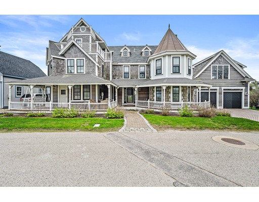 "45 Minutes from Boston!  This Marshfield beauty is one of Brant Rock's most distinctive homes. Ocean views on every floor and NO FLOOD INSURANCE REQUIRED!  If you are looking for a summer home, or your forever home by the beach, this is it!  This custom victorian has all the charm of an older home, with the updates and amenities for today!   ""The Gables"" , as it was called, is perfect for entertaining and has room for the extended family. The large eat in kitchen flows into the living and dining room with gorgeous stone fireplace. Second floor has three bedrooms including the breathtaking master complete with cathedral ceilings and elegant fireplace. The third floor bedroom suite has slider to the deck with incredible ocean views and a full bath. The finished basement is the perfect game room with a fireplace. Farmers porch,central air, gorgeous floors throughout, new appliances and so much more!  Detached garage/barn with large space above for possible expansion."