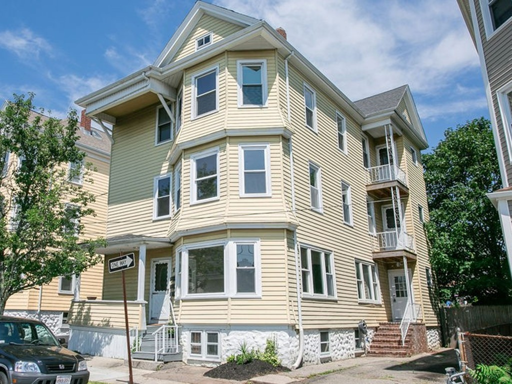 LOOKING FOR AN AMAZING 3-FAMILY FOR OWNER OCCUPIED OR A SMART INVESTMENT? LOOK NO MORE, THIS IS THE ONE!!! This property is in the sought after north end of New Bedford! Each unit has 3 sunny & spacious bedrooms, large bathroom w/tub & shower, newly remodeled kitchens w/ss appliances, dining room/living room combo, abundance of gleaming hardwood floors, built-ins, high ceilings & majority of rooms are freshly painted! Back bedroom of 1st floor unit has direct access to the backyard deck! Partially finished basement is clean and offers individual storage rooms and coin-operated washer & dryer! Off-street parking, shed & private yard! Centrally located close to Brooklawn Park, restaurants & convenience stores! All 3 units are vacant, ideal situation for landlord to choose their own tenants! Join us at our Open House Friday 8/2 5:00-6:00 and Saturday 8/3 11:00-12:00. Rare Opportunity!!!
