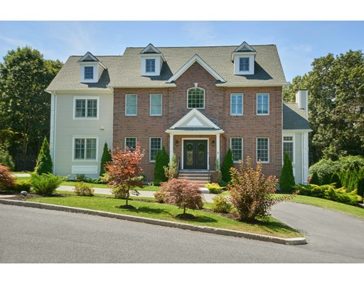 This massive home sits on an acre of land of one of  Winchester neighborhoods. Recently built (2015) and meticulously maintained, it is turn-key at a very high standard. It includes 7,097 square feet of living space, a huge heated pool, year-round 10 person spa, and professionally landscaping. Extreme privacy like no other.  Fourteen rooms, 5 bedrooms, 6 full baths, finished basement, and a 3-car heated garage are the core of this estate. The patio has an extensive yard and room for a tennis court. A wrought-iron elegant entrance door will welcome you featuring a family room with a fireplace, formal living room, dining room, office, and the gorgeous kitchen in the first floor. The private master bedroom area dominates the second floor with a fireplace, heated tile bathroom, a large walk-in closet, and a reading room. Three large bedrooms complete the second floor including walk-in closets for each of them. The third floor offers a great living area for visitors and an addl master suite