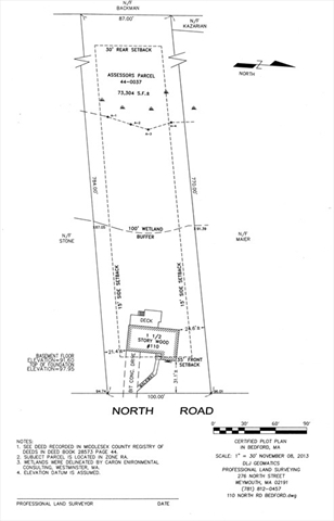 110 North Rd, Bedford, MA, 01730,  Home For Sale