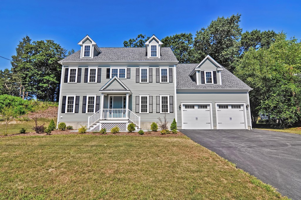 Just completed Gorgeous Custom Colonial nestled in this quiet & established Neighborhood. Ideal for Boston or Providence commuter- 3 minutes from I-95. Too much to list! Amazing hardwoods throughout with carpet finished bedrooms. Foyer with custom staircase. Beautifully handcrafted woodwork. Formal dining area. Study/Office/Formal living room with pocket doors. Open  kitchen, granite & stainless countertops. Large living room with a corner fireplace. 12x16 deck. 1st floor half bath with laundry. Custom coat/backpack storage space with bench & overhead bins. Spacious master suite & second fireplace. Mosaic walk-in shower with body spray,rain showerhead & glass door,a must see! Superb craftsmanship displayed in the finish,soft-close cabinetry,Harvey windows,quality vinyl exterior components. Public water, sewer & gas. Central air system. Oversized concrete floored two-car garage with wi-fi openers. This is one of the most elegant homes in the Attleboro /North Attleboro/ Seekonk market.