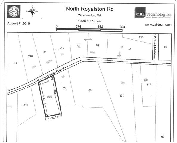 Lot 209 Royalston Road North Winchendon MA 01475
