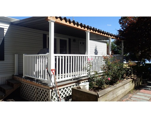 Open House Sat 9/21, 12-1pm.  Come see how with a little vision and you can own a great mobile home with a covered trex deck in a convenient Norton location. Side yard for garden area and large rear shed.  Family and pet friendly park.  2bdrms, 1 bath, bonus of central air and all appliances are staying! MOTIVATED SELLER has done many recent upgrades over the years including windows (12yrs), roof (16yrs), water heater (1yr), furnace (2yrs), and updated kitchen with lots of cabinets and center working island.  Come check it out and make it your own.  Cash buyers preferred.