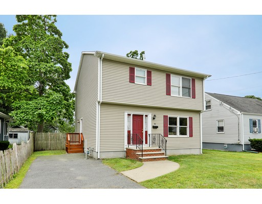 Picture perfect and barely lived in since new! This very well maintained 20 year young spacious 6 room, 3 bedroom, 2.5 bath Garrison Colonial style home sits on a beautiful, level, fully fenced lot and is located in desired Greenlodge School district. The first floor features a formal living room which is open big dining area and oak eat in kitchen plus a half bath.  The second floor offers a spacious master suite with full bath, as well as good sized second and third bedrooms and an additional full bath. Features include a large, ready-to-finish basement, all gas utilities, newer roof, newer hot water heater and more. Minutes from major routes, Legacy Place and commuter rail.  First showings at open house on Sunday 8/18/19 from 1-3 pm. Offers due on Tuesday, 8-20-19 at 2:00 pm. Buyer agent must view property prior to submitting offer.