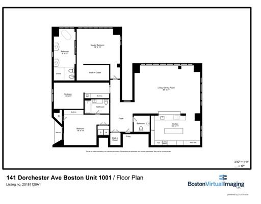 141 Dorchester Ave. #1001, Boston, MA 02127
