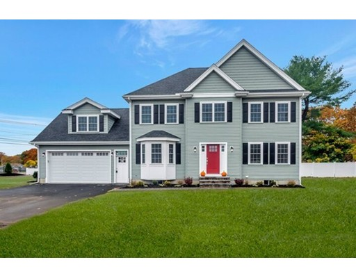 Commuter open house 9/12 from 5:30-6:30. Stop in for a quick bite while touring this Impressive new construction colonial set nicely on a spacious lot in convenient East Woburn. The well designed floorplan provides a comfortable layout for modern living and the quality finishes make it a true showpiece. The foyer opens to both a formal dining room and living room with gas fireplace framed by built in shelving. The rear eat-in kitchen features white cabinetry, quartz countertops, stainless steel appliances and sliders to a deck. A side mudroom off of the 2 car garage also provides access to a staircase leading to the massive family room! The 2nd floor houses a laundry room and 4 bedrooms including a beautiful master suite with walk in closet and tiled bath with double vanity sink. Enjoy additional highlights such as central air, a large and private yard and the home's close proximity to the commuter rail and major highways.