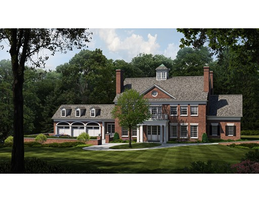 A unique opportunity to own this new construction residence in the desirable estate area of Chestnut Hill. Soon to be built this Colonial Revival style home will be sited on about an acre within walking distance to shops at The Street, Longwood Cricket Club, The Country Club and public transportation. Offering all of today's amenities this 6,750 sf home features a grand entry foyer, open floor plan with first floor bedroom, plus 5 additional en-suite bedrooms on the second level, 3 car garage and a 40' x 60' Infiniti pool. Teaming up on this extraordinary light-filled home is acclaimed architectural firm Berezinicki Associates and luxury home builder E.W. Tarca. Still time to customize as anticipated completion date is Fall 2020.